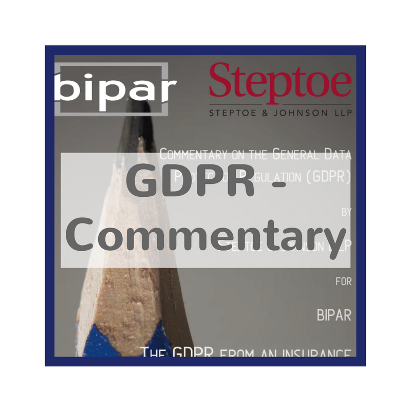 GDPR commentary