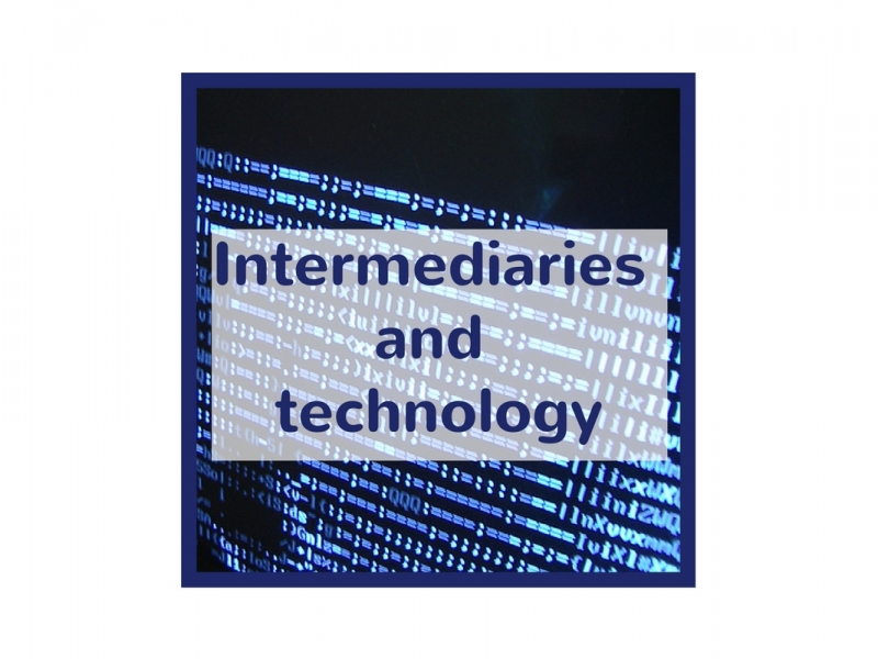 Intermediaries and technology